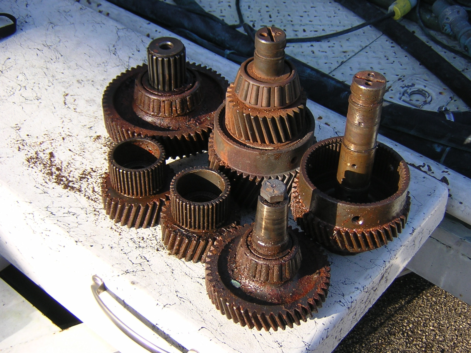Mutliple Gears Before